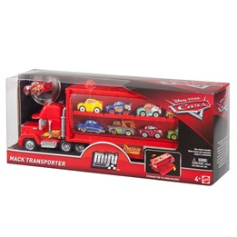 Disney Cars 3, Mini Racer Mack Truck Transport