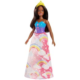 Barbie, Dreamstopia Princess - Rainbow Cloud Dress