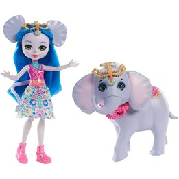 Enchantimals, Doll & Animal Story - Ekaterina Elephant Dolls