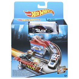 Hot Wheels Basic Playset - Tollbooth Takedown Trackset