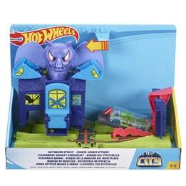 Hot Wheels, Ready to Play - City Bat Manor Attack Play Set