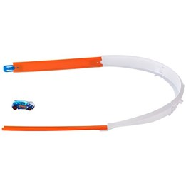 Hot Wheels, Stunt Builder Basic - Track Builder Curve Accessory