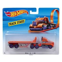 Hot Wheels Trackin Trucks - Hitch N Haul Vehicle