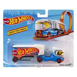 Hot Wheels Trackin Trucks - Aero Blast Vehicle