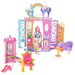 Barbie, Dreamtopia Rainbow Castle & Doll