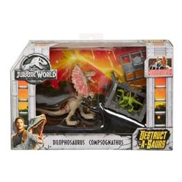 Jurassic World, Destructasaurs - Dilophosaurus & Compsognathus