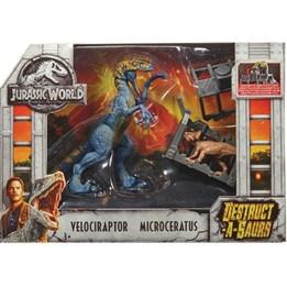 Jurassic World, Destructasaurs - Velociraptor & Microceratus