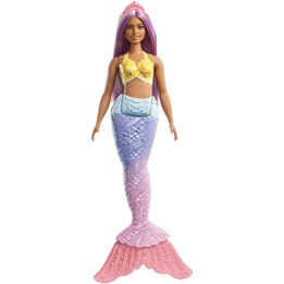 Barbie, Dreamtopia Mermaid Doll - Purple Hair