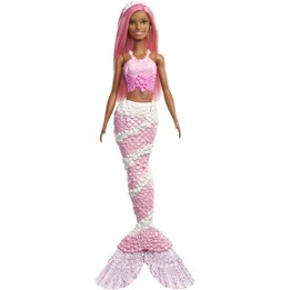 Barbie, Dreamtopia Mermaid Doll - Pink Hair