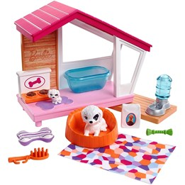 Barbie, Furniture - Indoor Dog House