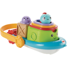 Fisher Price Stackin' Tubtime Boat