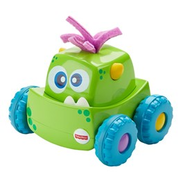 Fisher Price, Monster Trucks Press & Go - Grønn