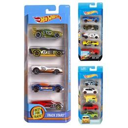 Hot Wheels, Basic Car 5 Pack