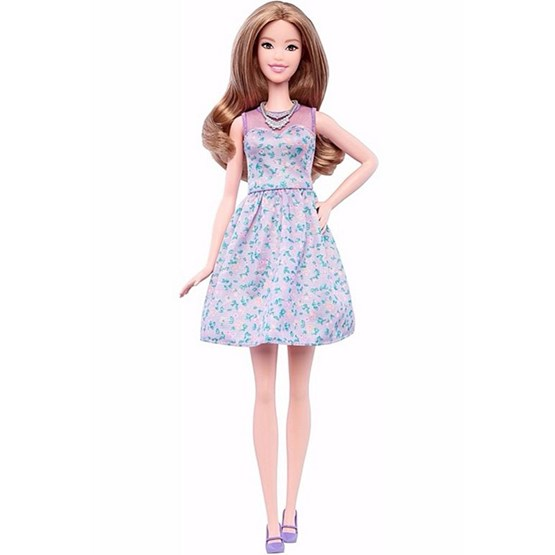 Barbie, Fashionistas dukke 53 - Lovely in Lilac