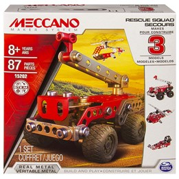 Meccano, 3 Models set - Rescue Squad 87-deler