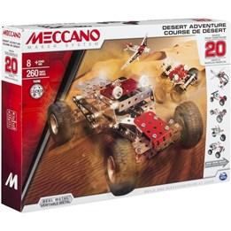 Meccano, 20 Modeller - Desert Adventure, 260 delar
