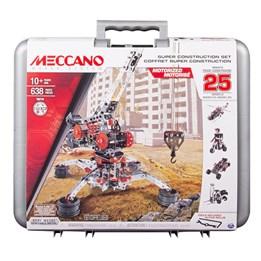 Meccano, Koffert 25 modeller sett