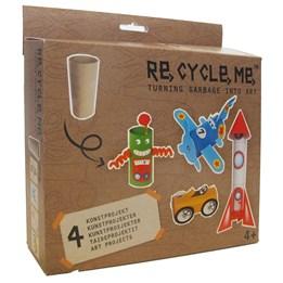 Recycle me, Toalettruller 1, 4 stk gjenvinningshobby