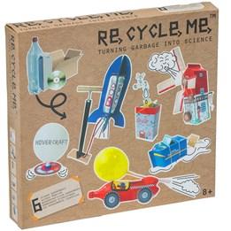 Recycle me, Vitenskap, 6 stk gjenvinningshobby