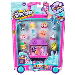 Shopkins, Serie 8 Europe - 12-pack