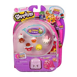 Shopkins, Serie 5, 5-pack