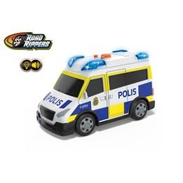 Brannbil og ambulanse