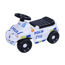 Plasto - Gåbil Politibil