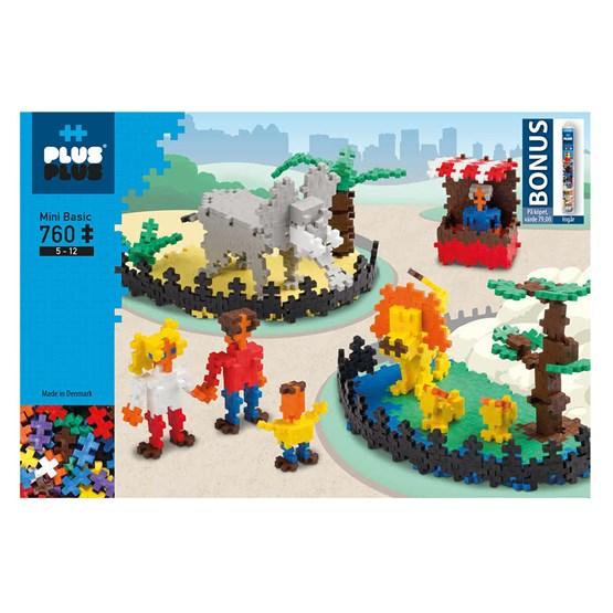 Plus Plus, Mini Zoo 760 stk