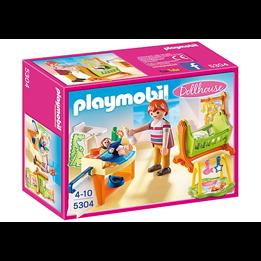 Playmobil Dollhouse 5304, Babyrom med vugge