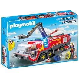 Playmobil City Action 5337, Flyplassbrannbil med lys og lyd