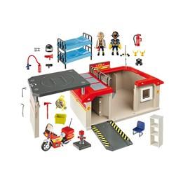 Playmobil City Action - Bærbar brannstasjon