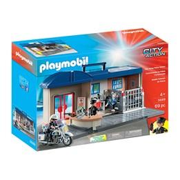 Playmobil City Action - Bærbar politistasjon