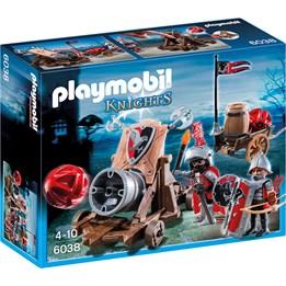 Playmobil Knights 6038, Haukridder med stridskanon