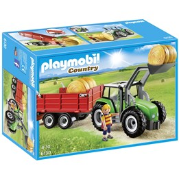 Playmobil Country 6130, Stor traktor med tilhenger