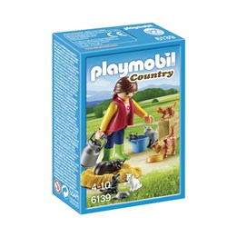 Playmobil Country 6139, Fargerik kattefamilie