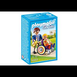 Playmobil City Life 6663, Barn i rullestol