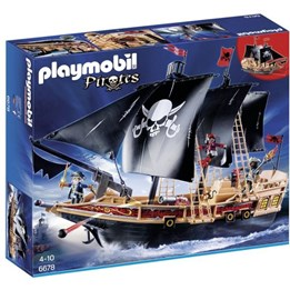 Playmobil Pirates 6678, Piratenes kampskip