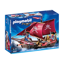 Playmobil Pirates 6681, Soldatenes kanonskip