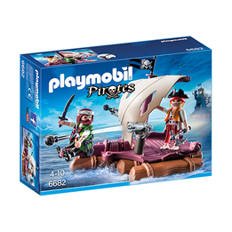 Playmobil Pirates 6682, Piratflåte