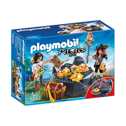 Playmobil Pirates 6683, Pirater med skatt