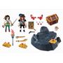 Playmobil Pirates 6683, Pirater med skatt