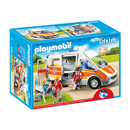 Playmobil City Life 6685, Ambulanse med lys og lyd