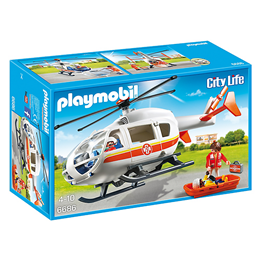 Playmobil City Life 6686, Legehelikopter