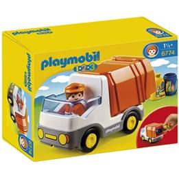Playmobil 1.2.3 6774, Søppelbil
