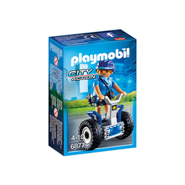Playmobil City Action 6877, Politidame med ståhjuling