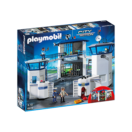 Playmobil City Action 6919, politi hovedkvarter med fengsel