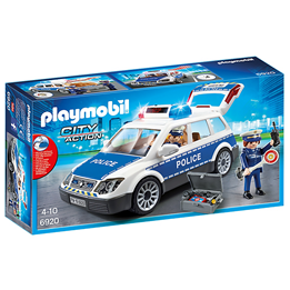 Playmobil City Action 6920, Patruljebil med lys og lyd