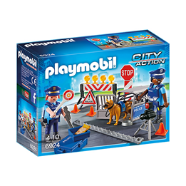 Playmobil City Action 6924, Politiveisperring