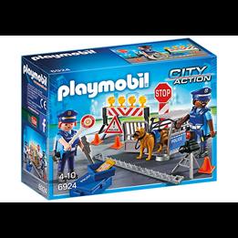 Playmobil City Action 6924, Politiveisperring