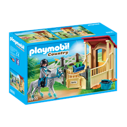 Playmobil Country 6935, Hesteboks «Appaloosahest»
